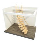 Лестница произвольная